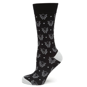 Black Panther Dot Socks