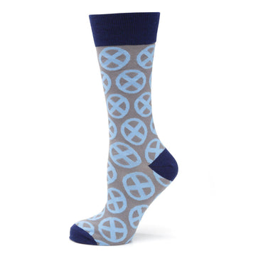 X-Men Symbol Gray Socks