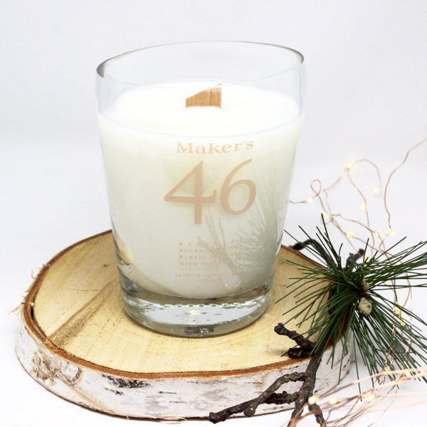 Maker's 46 Bourbon Bottle Candle-Candle-M.A.D. Candle Co.-Top Notch Gift Shop