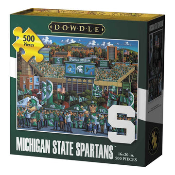 Michigan State Spartans Football 500 Piece Puzzle