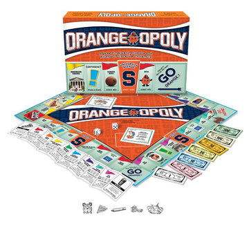 Orange-opoly Syracuse University Monopoly Game