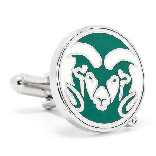Colorado State University Rams Enamel Cufflinks-Cufflinks-Cufflinks, Inc.-Top Notch Gift Shop
