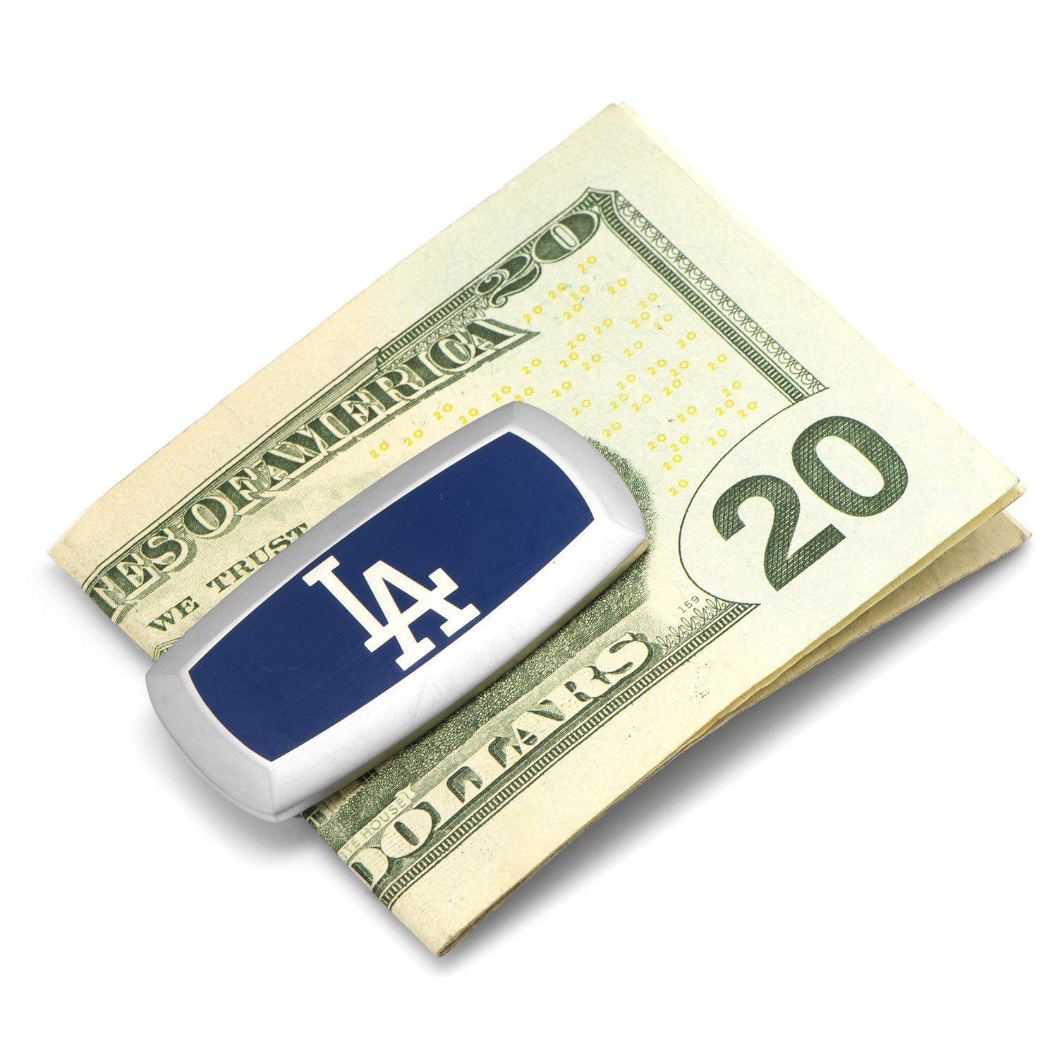 LA Dodgers Cushion Money Clip-Money Clip-Cufflinks, Inc.-Top Notch Gift Shop