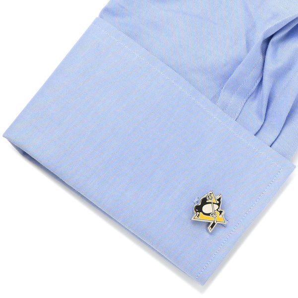 Pittsburgh Penguins Cufflinks-Cufflinks-Cufflinks, Inc.-Top Notch Gift Shop