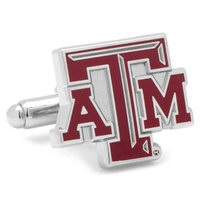 Texas A & M Aggies Enamel Cufflinks-Cufflinks-Cufflinks, Inc.-Top Notch Gift Shop