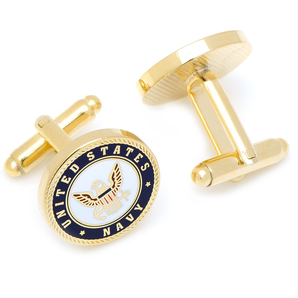 US Navy Cufflinks-Cufflinks-Cufflinks, Inc.-Top Notch Gift Shop