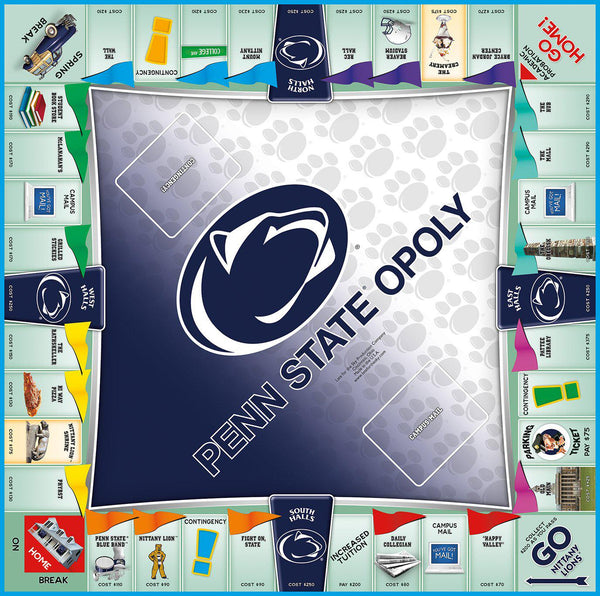 Penn State-opoly Monopoly Game-Game-Late For The Sky-Top Notch Gift Shop
