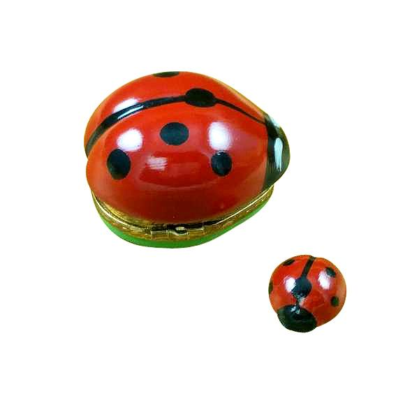 Lady Bug with Baby Limoges Box by Rochard™-Limoges Box-Rochard-Top Notch Gift Shop