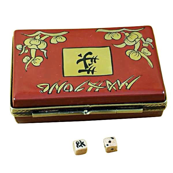 Mahjong Set Limoges Box by Rochard™-Limoges Box-Rochard-Top Notch Gift Shop