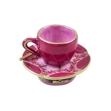 Valentine Love Tea Cup Limoges Box by Rochard™