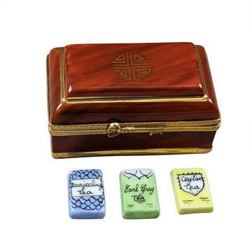 Tea Box Limoges Box  by Rochard