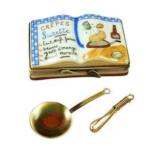 Crepes Suzette Cookbook Limoges Box by Rochard™-Limoges Box-Rochard-Top Notch Gift Shop