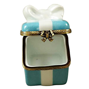 Tiffany Blue Gift Box Limoges Box by Rochard™-Limoges Box-Rochard-Top Notch Gift Shop