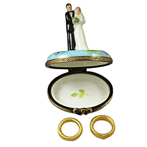 Bride and Groom Limoges Box by Rochard™-Limoges Box-Rochard-Top Notch Gift Shop