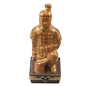 Terracotta Soldier Limoges Box by Rochard™-Limoges Box-Rochard-Top Notch Gift Shop
