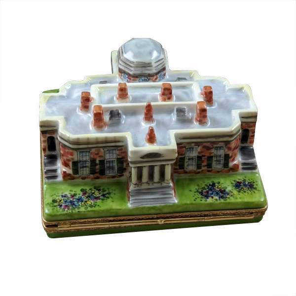 Monticello Limoges Box by Rochard™-Limoges Box-Rochard-Top Notch Gift Shop