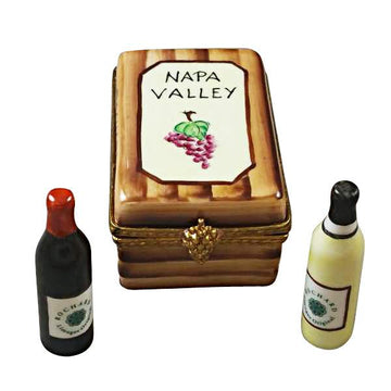Napa Valley Wine Crate Limoges Box by Rochard™