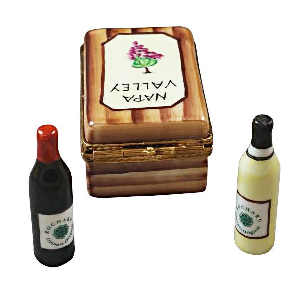 Napa Valley Wine Crate Limoges Box by Rochard™-Limoges Box-Rochard-Top Notch Gift Shop