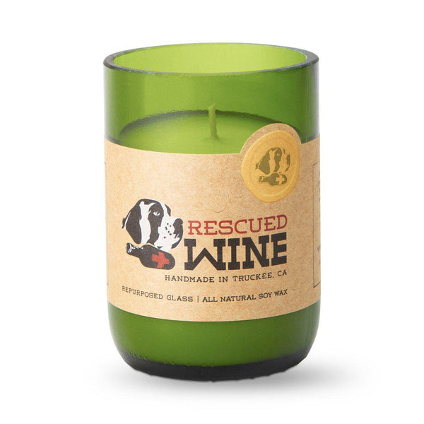 Champagne Scented Long Burn Soy Candle-Candle-Rescued Wine-Top Notch Gift Shop