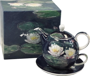 "Tea For One Set - Monet ""Water Lilies"""