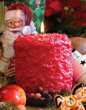 Santa's Cider Scented Hearth Candle-Candle-Warm Glow Candle Company-Top Notch Gift Shop