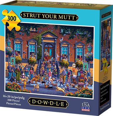 Strut Your Mutt 300 Piece Puzzle