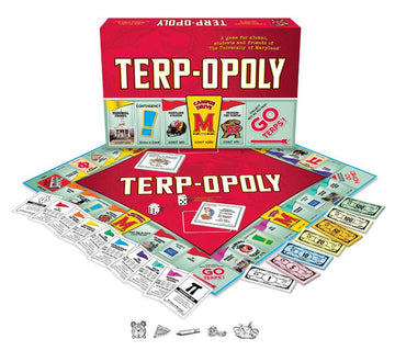 Terp-opoly University of Maryland Monopoly Game