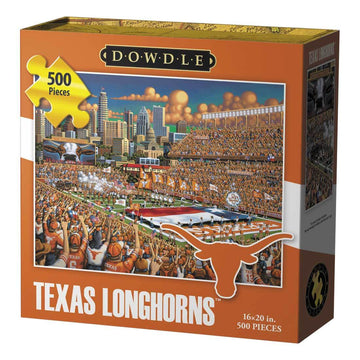 Texas Longhorns Football 500 Piece Puzzle