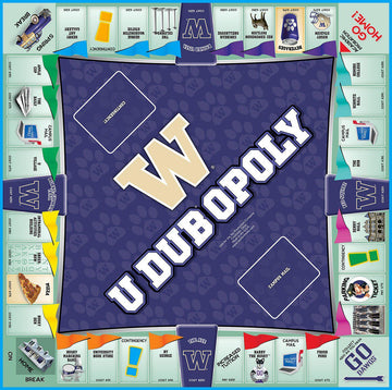 UDUB-opoly Monopoly Board Game