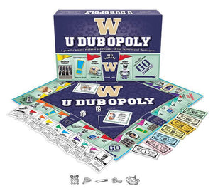 UDUB-opoly Monopoly Board Game-Game-Late For The Sky-Top Notch Gift Shop