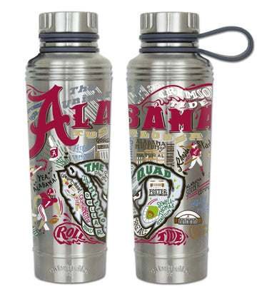 Alabama Crimson Tide Thermal Water Bottle