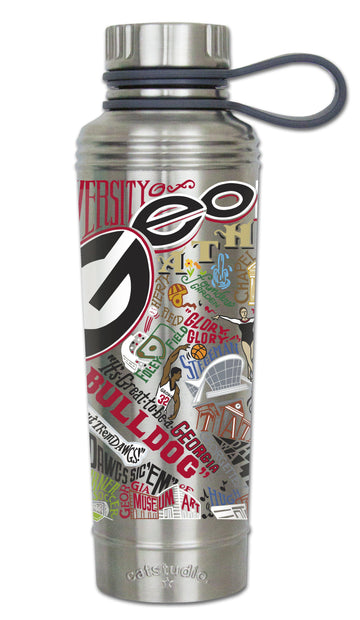 Georgia Bulldogs Thermal Water Bottle