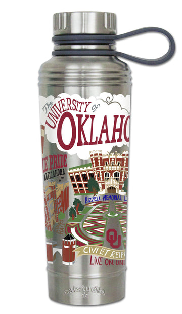 Oklahoma Sooners Thermal Water Bottle