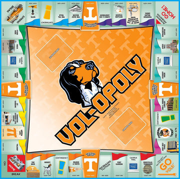 Vol-opoly Tennessee Monopoly Board Game