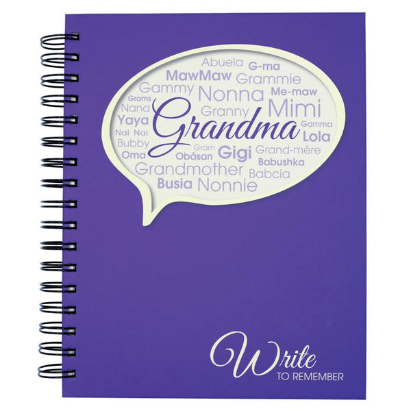Grandma - Write To Remember Journal-Journal-Journals Unlimited-Top Notch Gift Shop