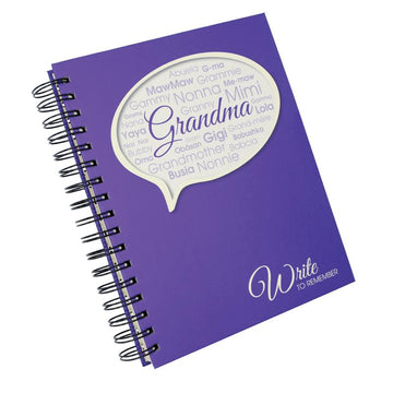 Grandma - Write To Remember Journal