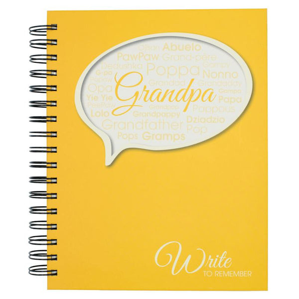 Grandpa - Write To Remember Journal-Journal-Journals Unlimited-Top Notch Gift Shop