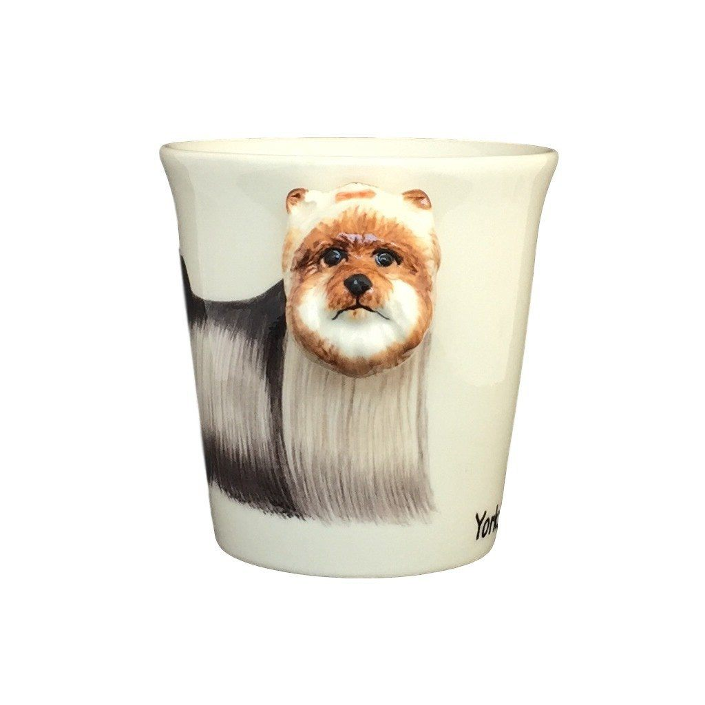 Yorkshire Terrier Hand Painted Coffee Mug-Mug-Sea Island-Top Notch Gift Shop