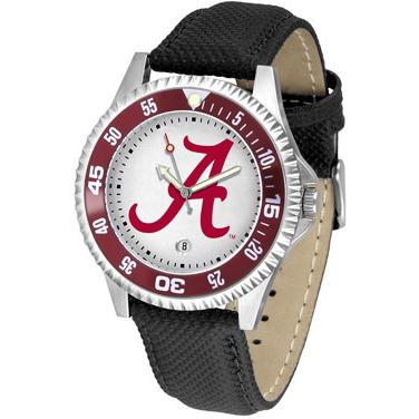 Alabama Crimson Tide Competitor - Poly/Leather Band Watch-Suntime-Top Notch Gift Shop