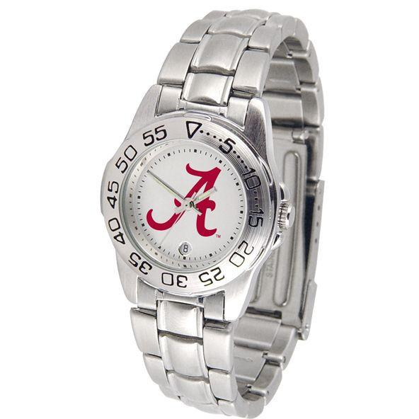 Alabama Crimson Tide Ladies Steel Band Sports Watch-Suntime-Top Notch Gift Shop