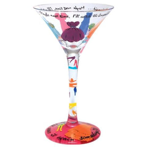 Always A Bridesmaid Martini Glass by Lolita®-Martini Glass-Designs by Lolita® (Enesco)-Top Notch Gift Shop