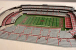 Arkansas Razorbacks 5 Layer Stadiumview 3D Wall Art-Wall Art-You The Fan-Top Notch Gift Shop