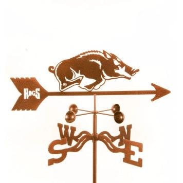 Arkansas Razorbacks Weathervane-Weathervane-EZ Vane-Top Notch Gift Shop