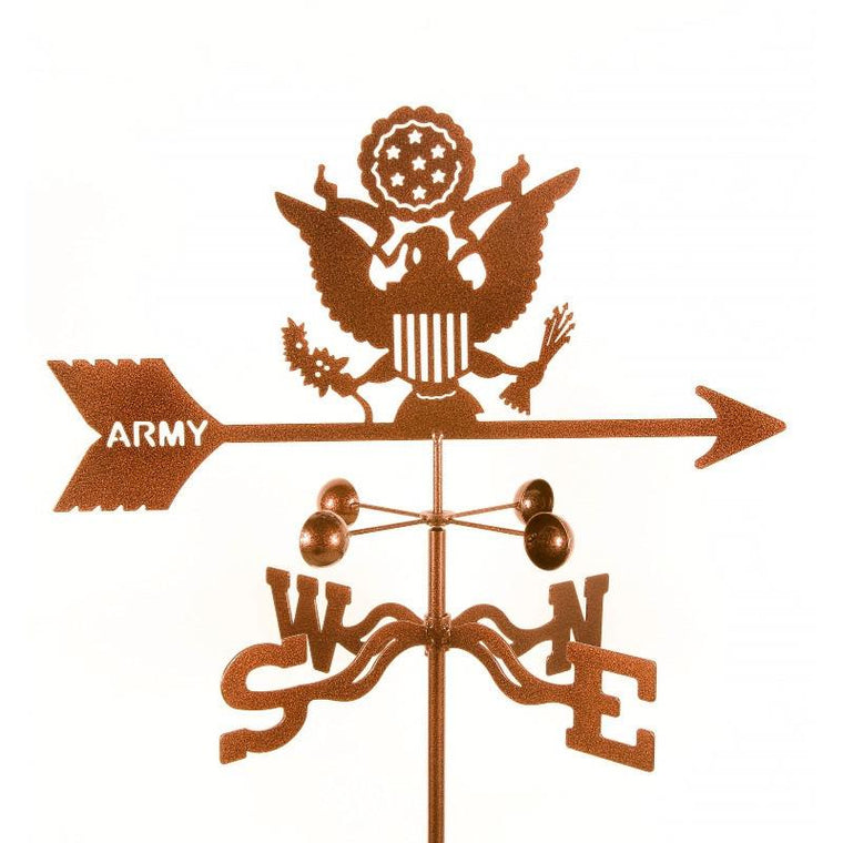 Army Weathervane-EZ VaneTop Notch Gift Shop