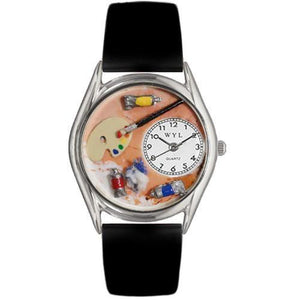 Artist Watch Small Silver Style-Watch-Whimsical Gifts-Top Notch Gift Shop