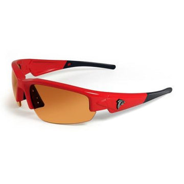Atlanta Falcons Dynasty Sunglasses - Red and Black