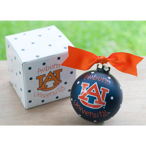 Auburn University Christmas Ornament-Ornament-Coton Colors-Top Notch Gift Shop