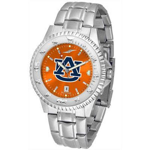 Auburn Tigers Competitor AnoChrome - Steel Band Watch-Watch-Suntime-Top Notch Gift Shop