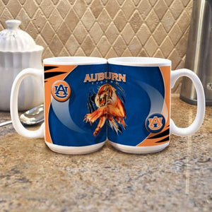 "Auburn University ""Mascot"" Mug - (Set of 2)-Mug-Memory Company-Top Notch Gift Shop"