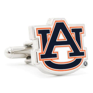 Auburn University Tigers Enamel Cufflinks-Cufflinks-Cufflinks, Inc.-Top Notch Gift Shop